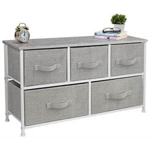 Sorbus Dresser with 5 Drawers - Furniture Storage Chest Tower Unit for Bedroom, Hallway, Closet, for $70