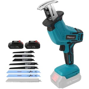 Mereced 20V Cordless Reciprocating Saw for $56