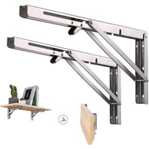 Domisl Folding Shelf Bracket 2-Pack from $12