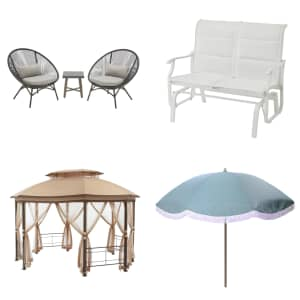 Patio Furniture and Shade at Home Depot: Up to $150 off