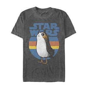Star Wars Men's T-Shirt, black Heather, XX-Large for $14