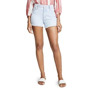 HUDSON Women's Sade Cutoff Shorts, Treasure, Blue, 24 for $77
