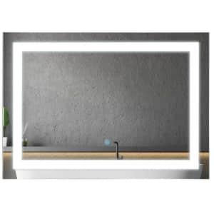 "HomCom 28"" LED Illuminated Bathroom Wall Vanity Mirror for $108"