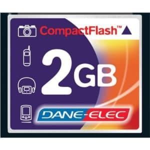 Dane Elec Canon EOS 300D Digital Camera Memory Card 2GB CompactFlash Memory Card for $37