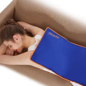 Okiaas Reusable Extra Large Back Ice Pack for $13