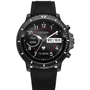 Citizen CZ Stainless Steel Touchscreen GPS Smartwatch for $277