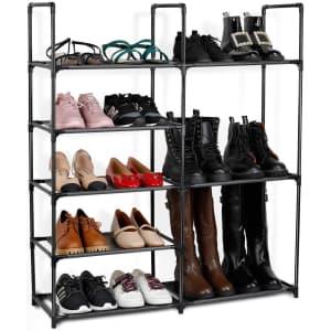 Jakpas 5-Tier Shoe Organizer for $14
