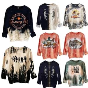 Women's Halloween Sweatshirt: 2 for $27