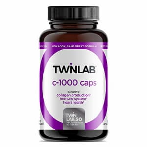 Twinlab C-1000 Capsules, 1000mg 250 Capsules, Dietary Supplement, Collagen Production, Supports for $34