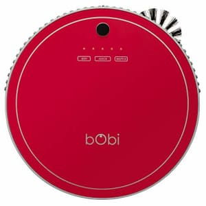 bObsweep bObi Pet Robotic Vacuum Cleaner, Scarlet for $283