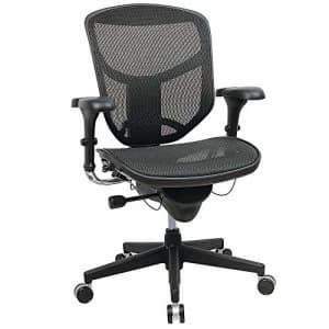 WorkPro(R) Quantum 9000 Series Ergonomic Mid-Back Mesh/Fabric Chair, Black for $480