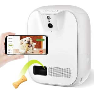Cengcen WiFi 1080p Pet Camera / Remote Dog Treat Dispenser for $80