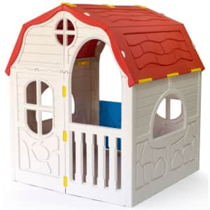 Ram Quality Products Kids' Foldable Cottage for $100