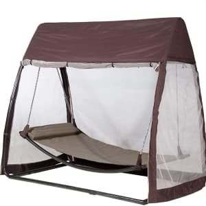 Abba Patio Outdoor Swing Hammock w/ Mosquito Net for $269