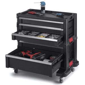 Keter 5-Drawer Rolling Tool Chest for $85