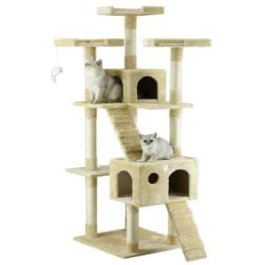 """Go Pet Club 72"""" Cat Tree Condo for $70"""