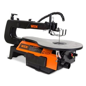 WEN 3921 16-inch Two-Direction Variable Speed Scroll Saw for $131