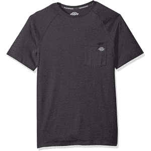 Dickies Men's Short Sleeve Performance Cooling T-Shirt for $10