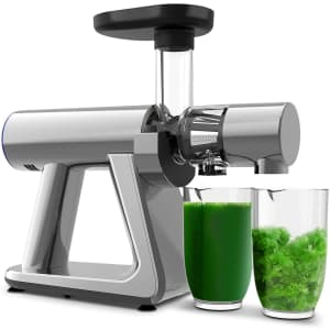 Zuukoo Slow Masticating Juicer for $85