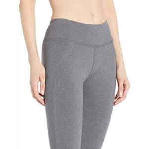 Satva Womens Organic Cotton Mantra Legging Yoga Pants Running Sports Workout Tights Soft & Slim for $36