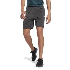 Reebok Men's Workout Ready Melange Shorts for $13