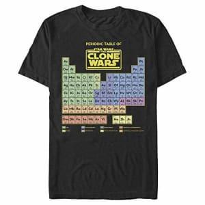 STAR WARS Men's T-Shirt, Black, Medium for $13