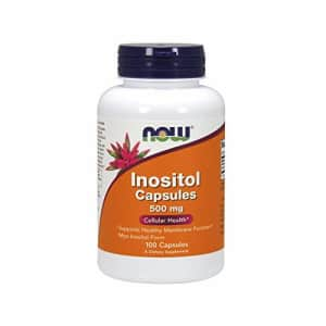 NOW Foods - Inositol capules 500 mg 100 Cap for $10
