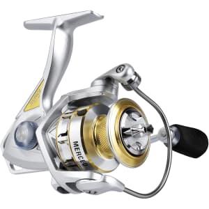 Runcl 2000 Merced Spinning Fishing Reel for $17