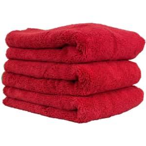 Chemical Guys Fluffer Miracle Supra Mircofiber Towel 3-Pack for $26