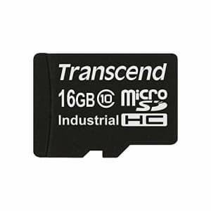 Transcend 16GB Industrial microSD High Capacity (microSDHC) Card for $20
