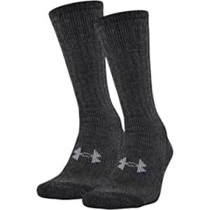 Under Armour Adult Hitch ColdGear Boot Socks 2-Pack for $11