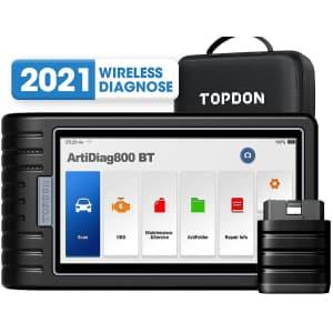 TT Topdon OBD2 Bluetooth Car Diagnostic Scanner for $449