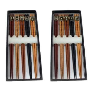 BergHOFF International Natural Wooden Chopsticks 10-Pairs for $19