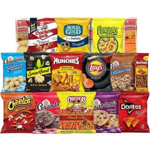 Frito Lay 40-Count Ultimate Snack Care Package for $20