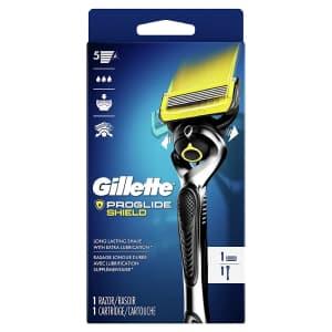 Gillette ProGlide Shield Men's Razor Handle + 1 Blade Refill for $6.49 via Sub & Save