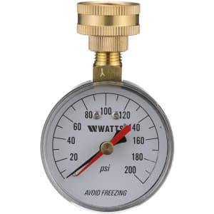Watts Water Pressure Test Gauge for $10