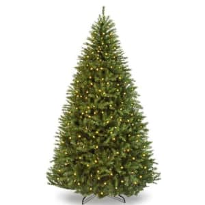 Best Choice Products Pre-Lit Douglas Artificial Christmas Tree from $126