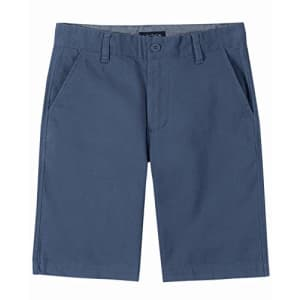 Nautica Boys' Basic Flat Front Short, 8 Blue for $33