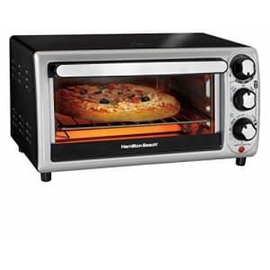 Hamilton Beach 31142 Toaster Oven, 12.2 x 9.6 x 16.14 inches, Silver for $55