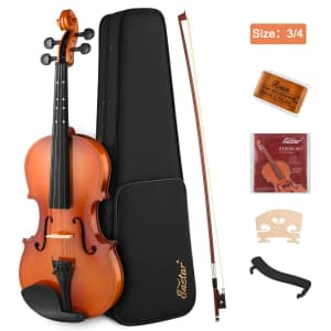 Eastar 3/4 Beginner Violin Set for $67
