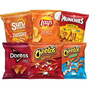 Frito Lay Cheesy Mix 40-Ct. Variety Pack for $13 for Prime members
