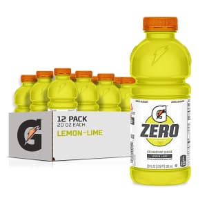 Gatorade Zero Sugar Thirst Quencher Bottles 12-Pack for $6.94 via Sub & Save