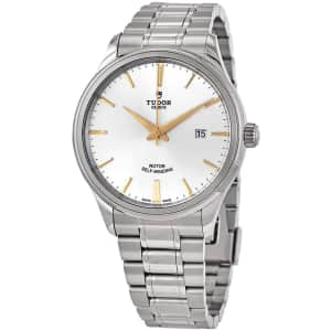 Tudor Men's Style 41mm Automatic Watch for $1,749