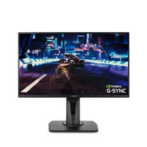 ASUS VG258QR 24.5 Gaming Monitor, 1080P Full HD, 165Hz (Supports 144Hz), G-SYNC Compatible, 0.5ms, for $278