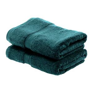 SUPERIOR Egyptian Cotton Solid Towel Set, 2PC Bath, Teal, 2 Count for $38