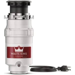 Waste King 0.5-HP Continuous Feed Disposal for $67