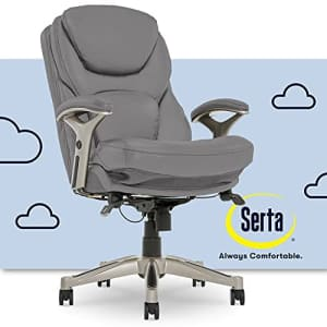 Serta Ergonomic Executive Office Chair Motion Technology Adjustable Mid Back Design with Lumbar for $329