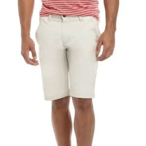 """True Craft Men's 11"""" Stretch Chino Shorts for $15"""