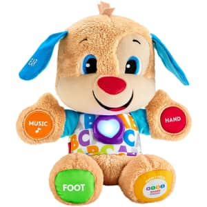 Fisher-Price Laugh & Learn Smart Stages Puppy for $14