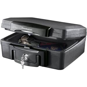 Sentry Safe Fire and Waterproof Box for $25